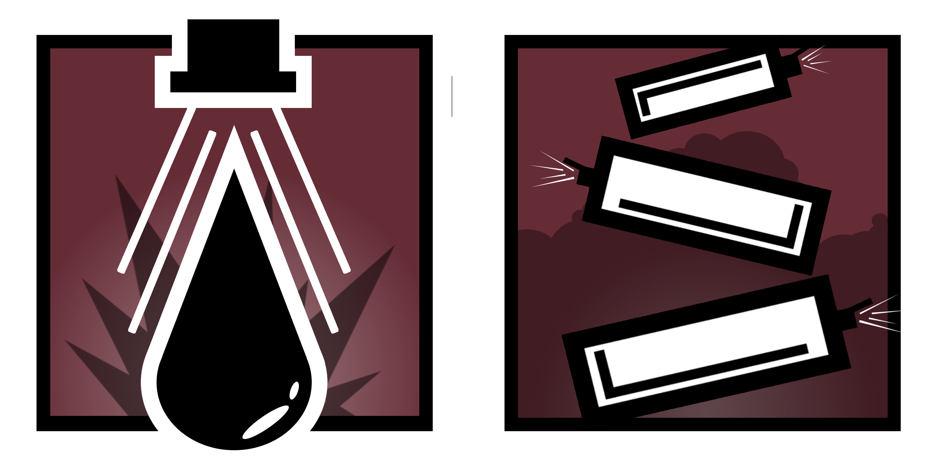 Icons for my second Fan Made Operations : Rainbow6.