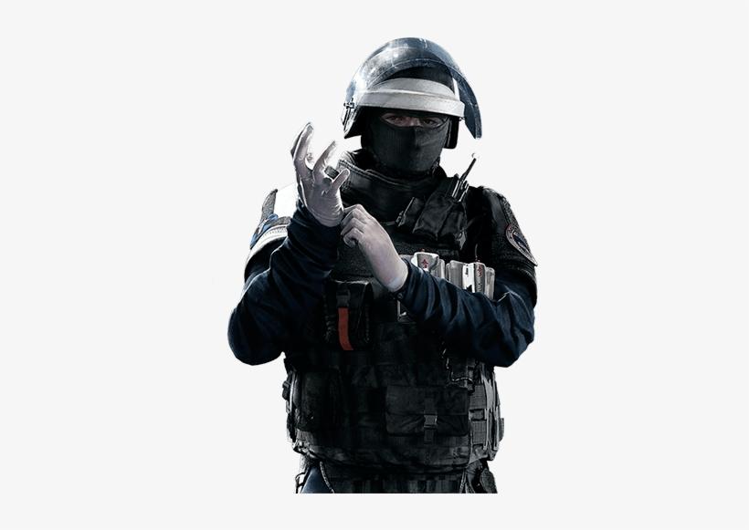 Rainbow Six Siege French Operators.
