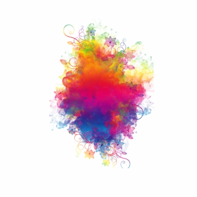 Result For: rainbow smoke , Free png Download.