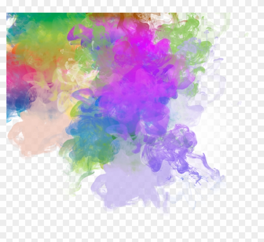 Rainbow Smoke Transparent, HD Png Download.