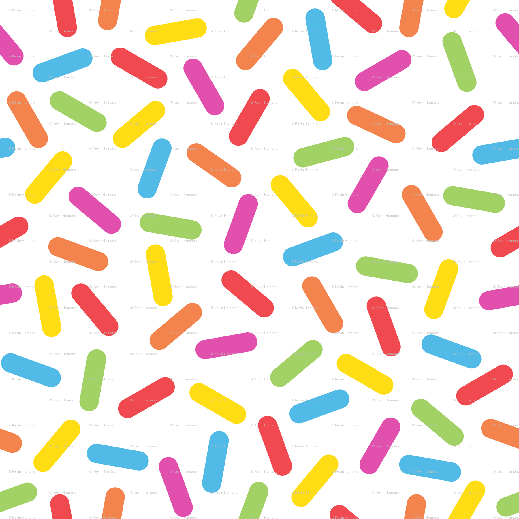 Rainbow Sprinkles wallpaper.