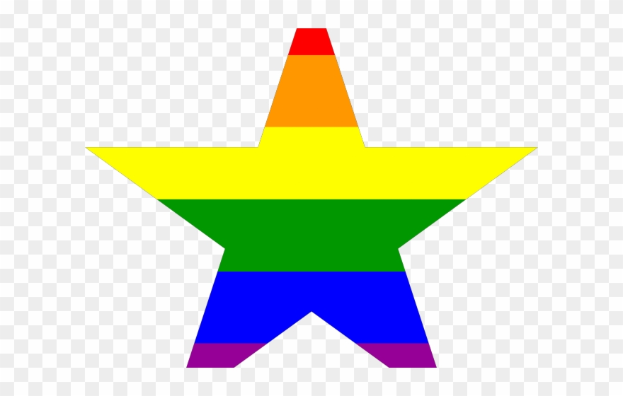Polygon Clipart Five Point Star.