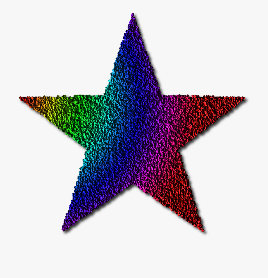 Star Clipart, Free Clipart Images, Free Images, Rainbow.
