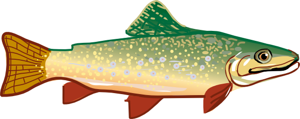 Trout Clip Art at Clker.com.