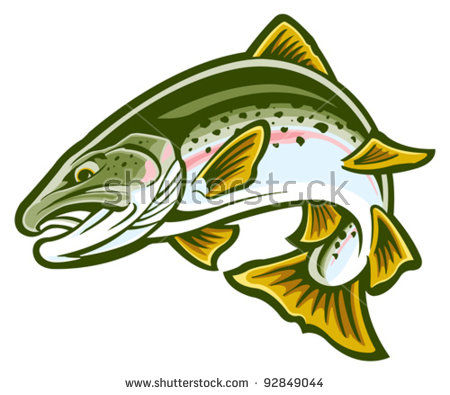 Trout Stock Images, Royalty.