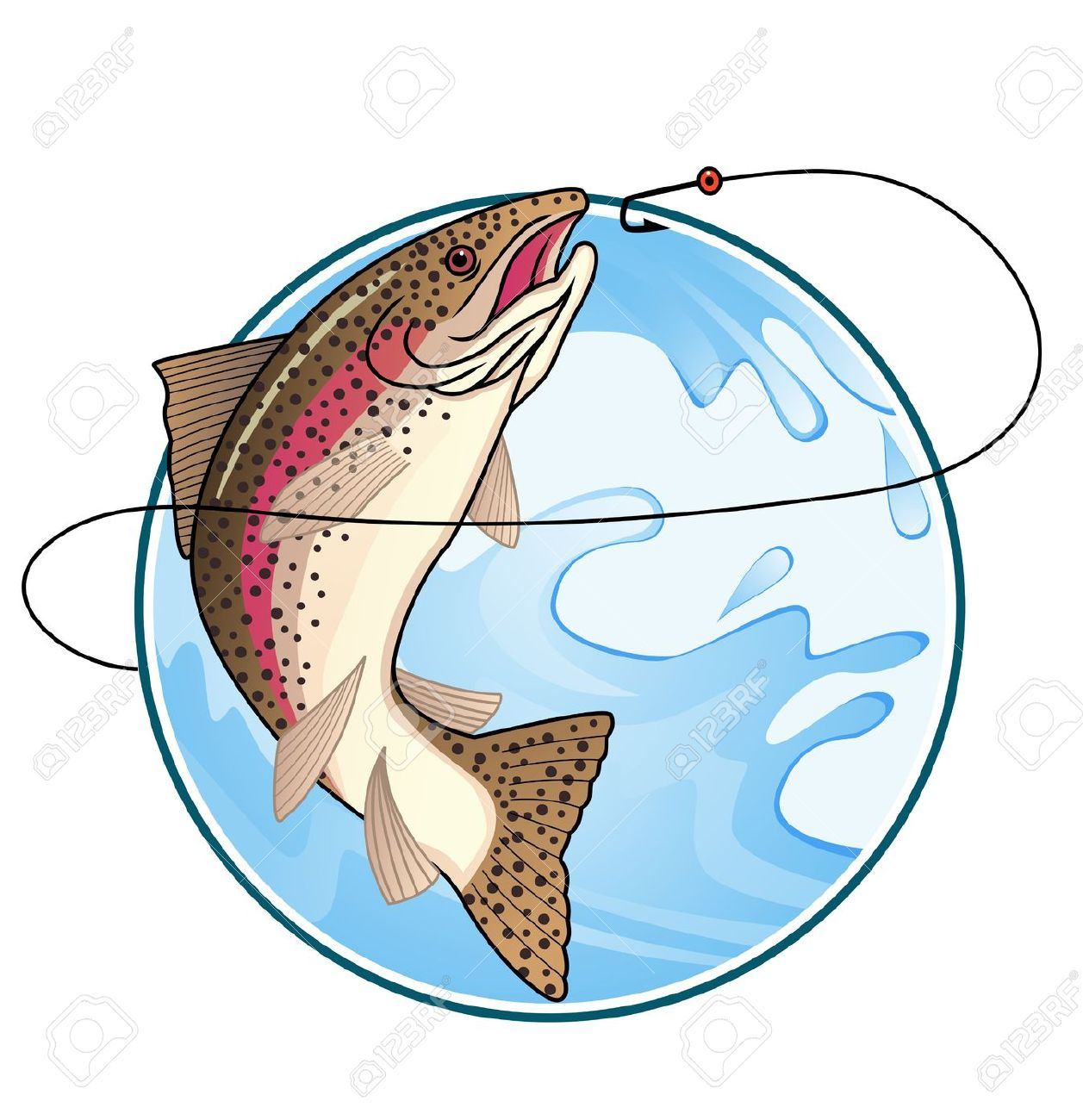 4,538 Trout Stock Vector Illustration And Royalty Free Trout Clipart.