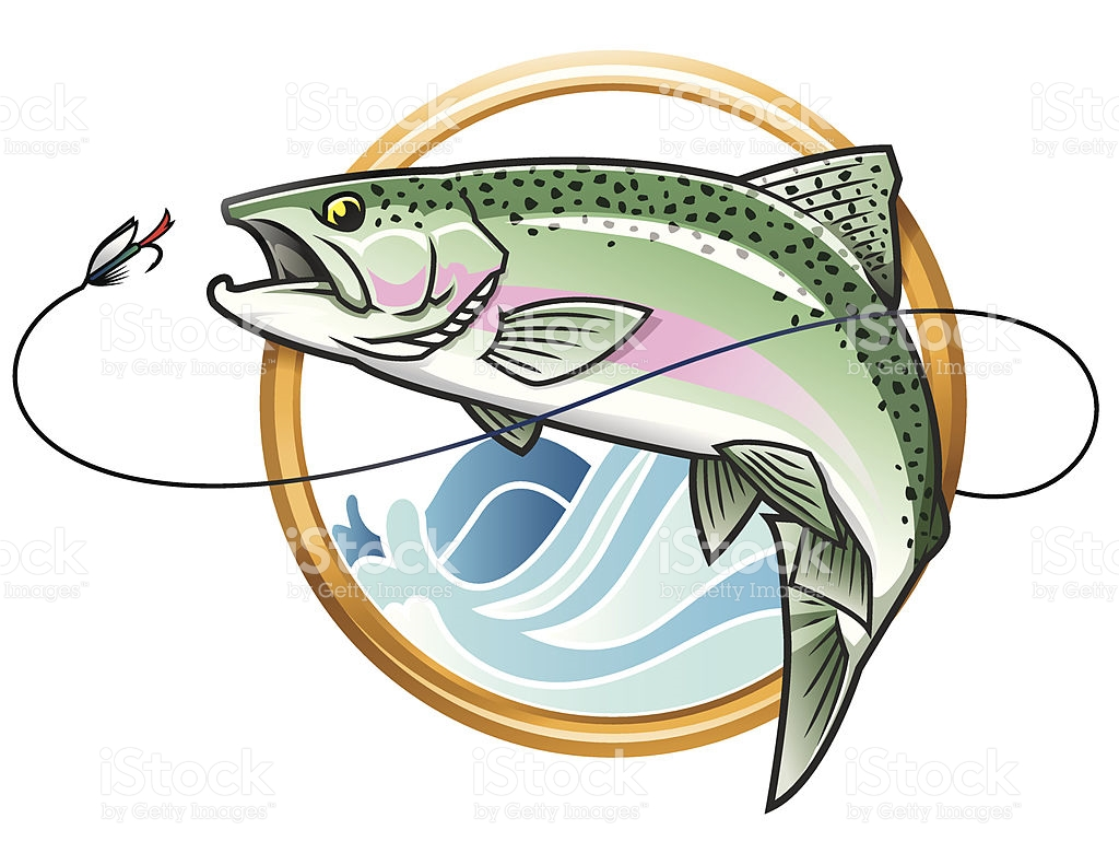 Rainbow Trout Jumping Clipart (69+).