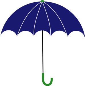 Blue And Green Umbrella Clip Art at Clker.com.