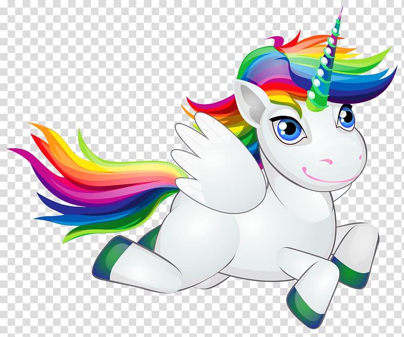 Pony Horse Rainbow Unicorn , Cute Rainbow Pony , flying.