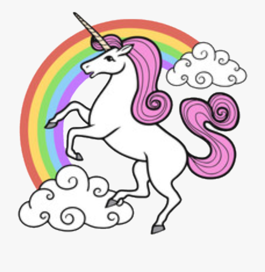Drawing Unicorns Rainbow Unicorn.