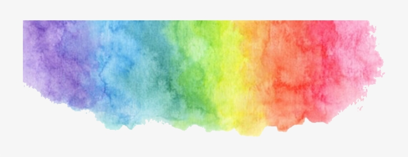 Rainbow Watercolorsplatter Watercolors Watercolorstickers.
