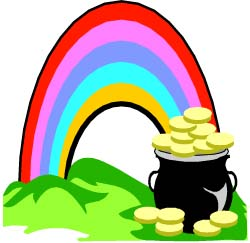 Pot Of Gold Clipart.