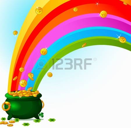 6,647 Pot Of Gold Stock Illustrations, Cliparts And Royalty Free.
