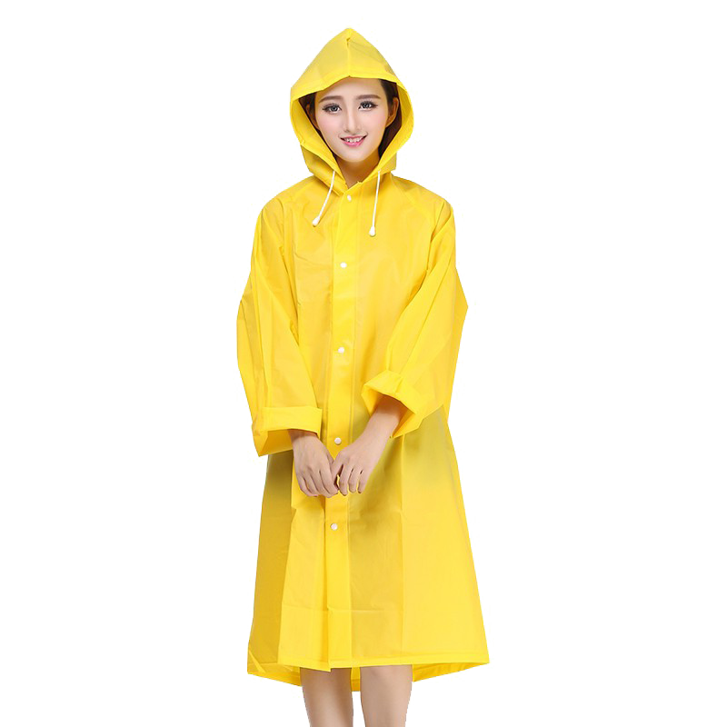 Raincoat PNG Transparent Image.