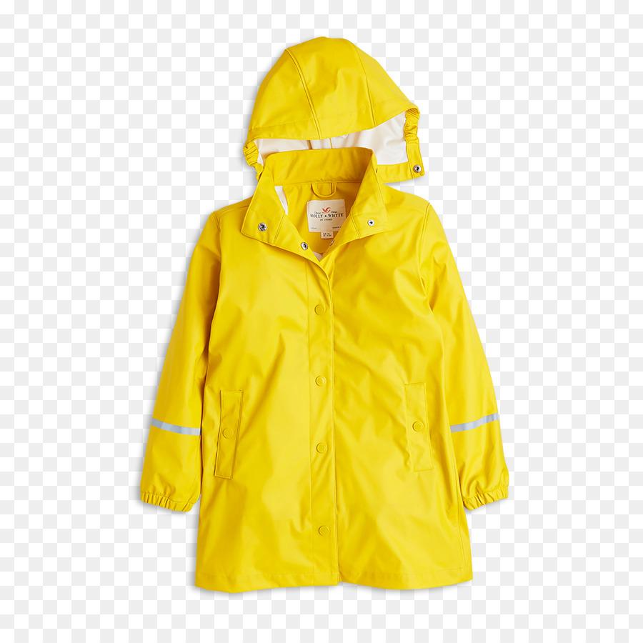 Raincoat Yellow png download.