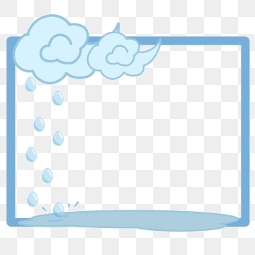 Blue Raindrops Png, Vector, PSD, and Clipart With.