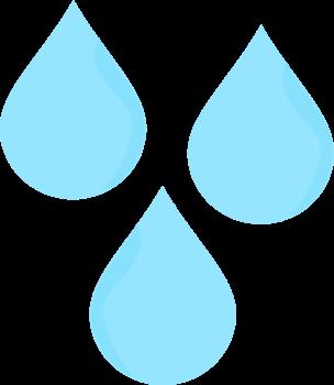 Raindrops Clip Art.