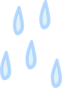 Raindrops Clip Art at Clker.com.