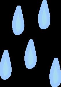 Raindrops Clip Art at Clker.com.