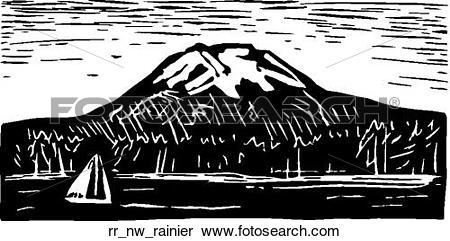 Clipart of rainier rr_nw_rainier.