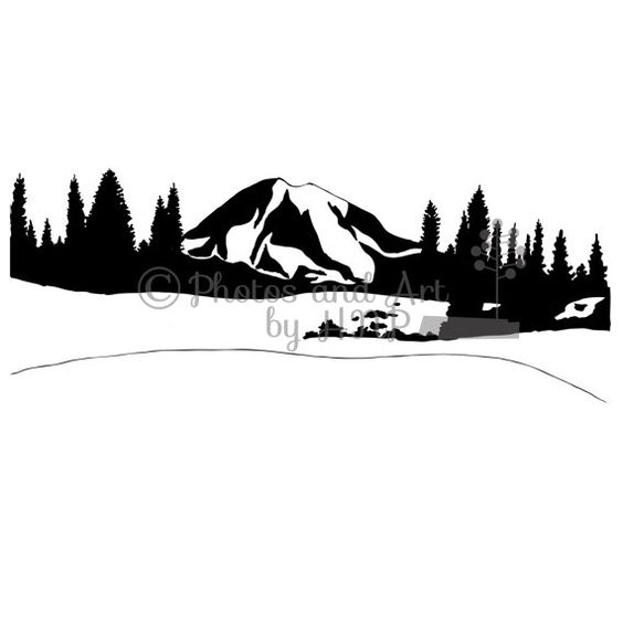 Mountain Graphic vector clip art png Ai eps jpeg pdf illustration.