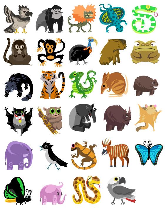 Tropical Rainforest Animals Clip Art, Rainforest Animals Free.