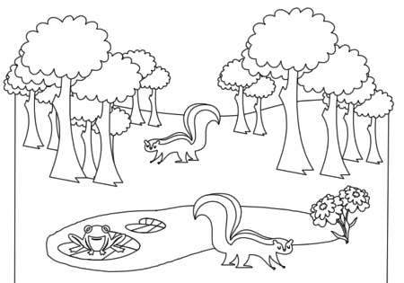 Free Rainforest Clipart Black And White, Download Free Clip.