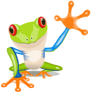 Rainforest Frog Clipart.