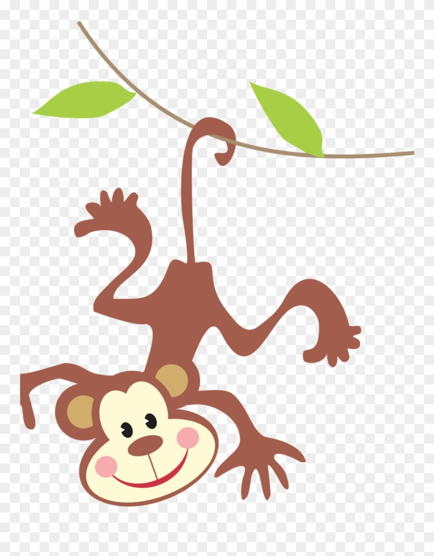 Clipart Monkey Jungle Animal.
