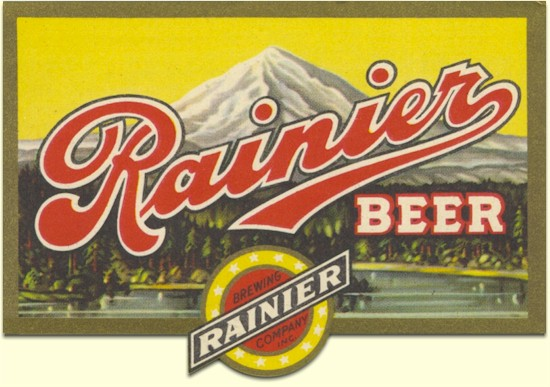 History of Rainier Beer.