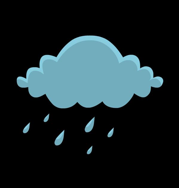Free Rain Cloud Clip Art, Raining Free Clipart.