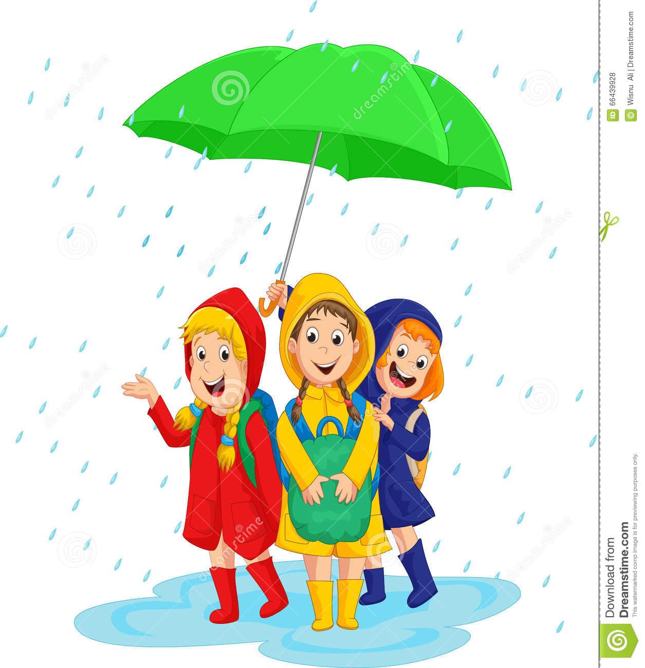 Raining Day Clipart.
