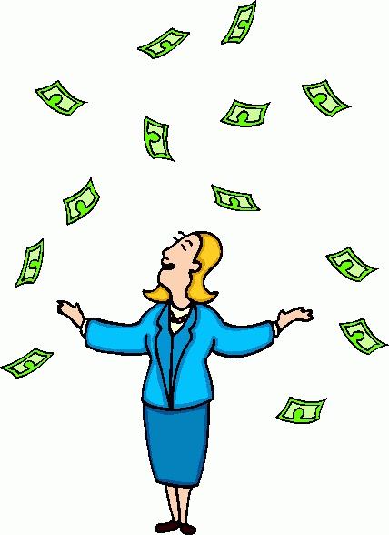 Raining Money Animated Clipart#2204361.
