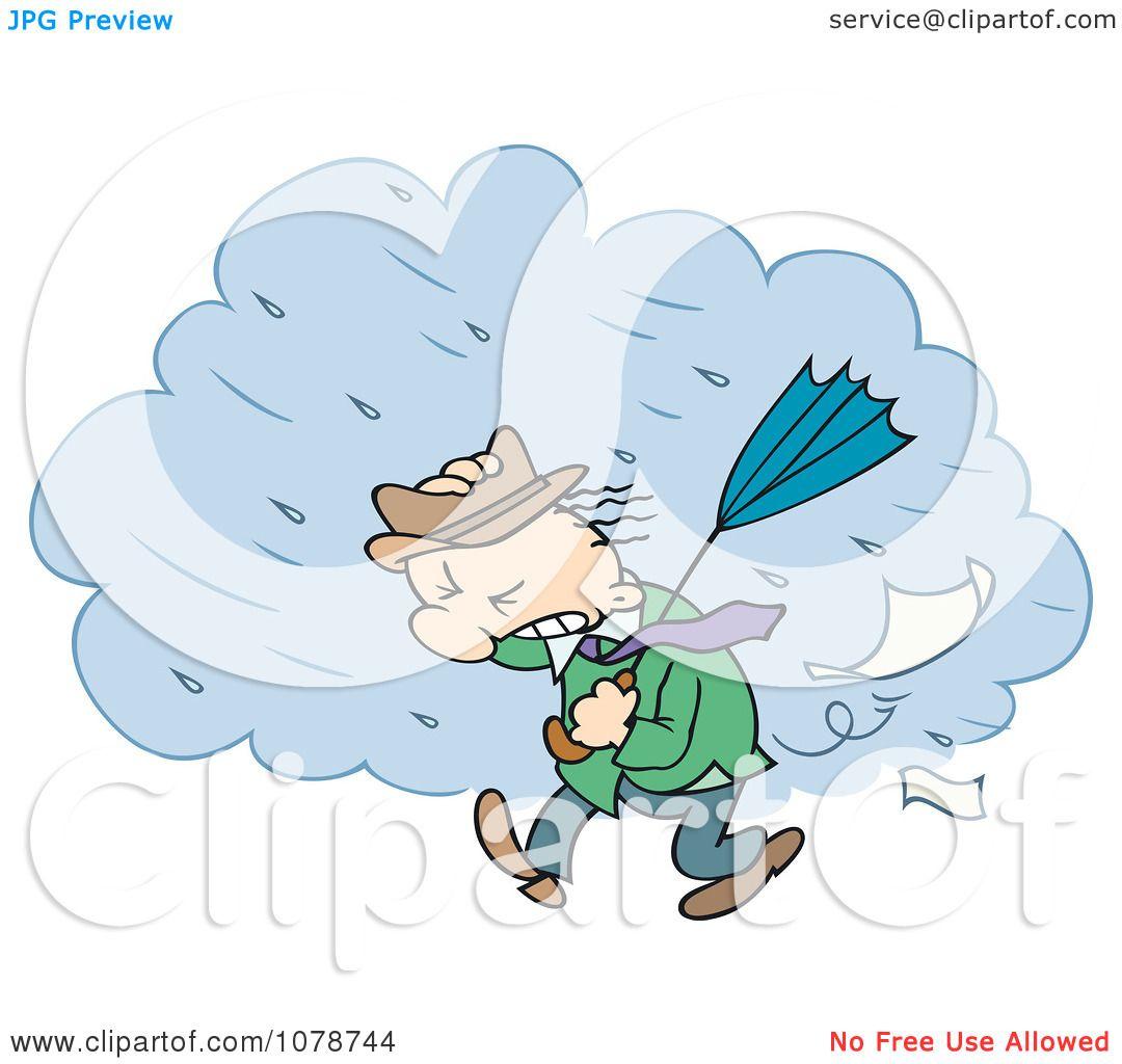 Rainstorm clipart - Clipground