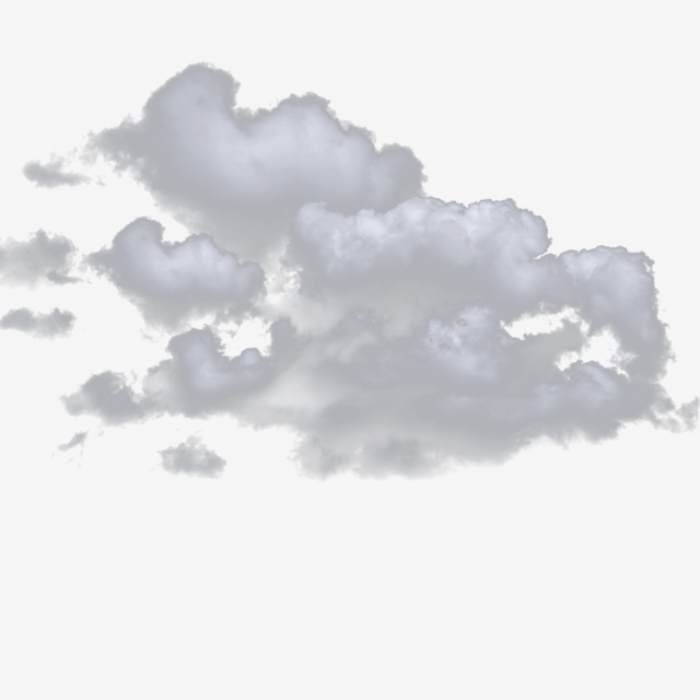 Small Rainy Clouds Png Transparent Background, White Cloud.