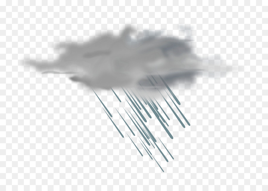 Cloud Rain Storm Clip Art.