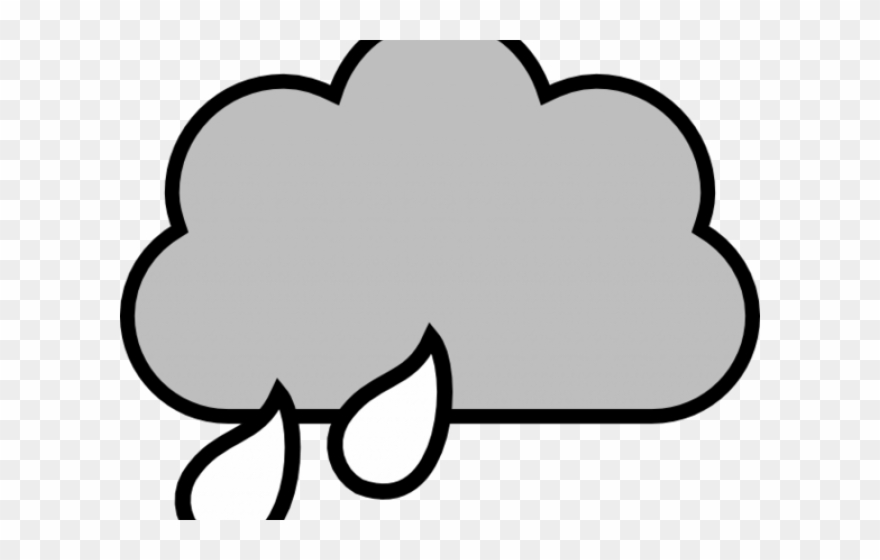 Clouds Clipart Outline.