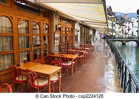 Rainy Day Cafe Clipart.
