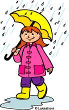 Rainy Morning Clipart.