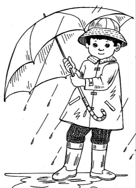 Rainy day clipart black and white 1 » Clipart Station.
