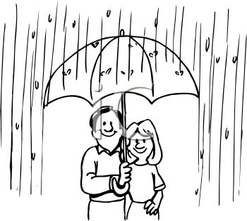 Rainy day clipart black and white 6 » Clipart Station.