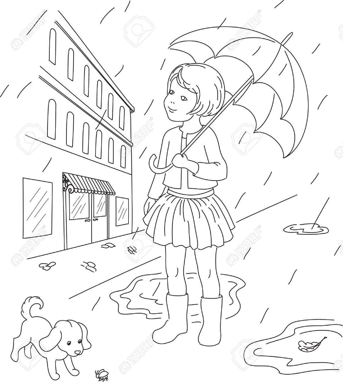 Rainy day clipart black and white 2 » Clipart Portal.