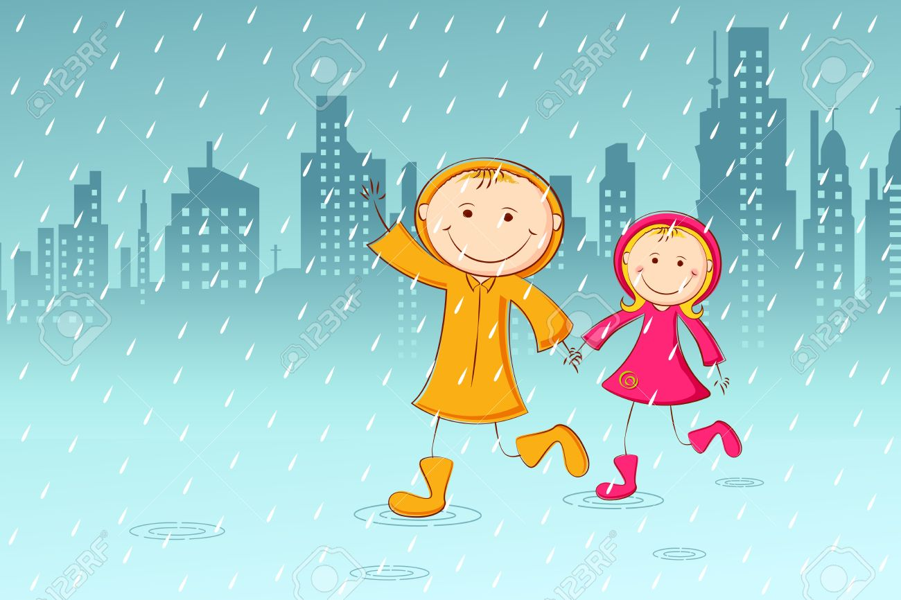 542 Rainy Day free clipart.