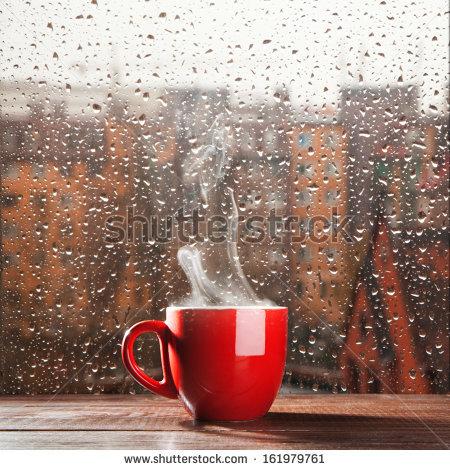 Rain Stock Images, Royalty.