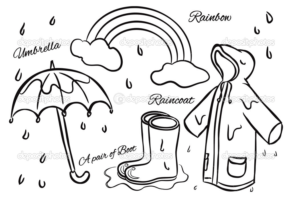 Rainy season clipart Clipground