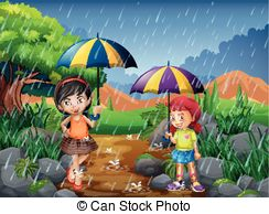 Rainy season Illustrations and Clipart. 7,361 Rainy season royalty.