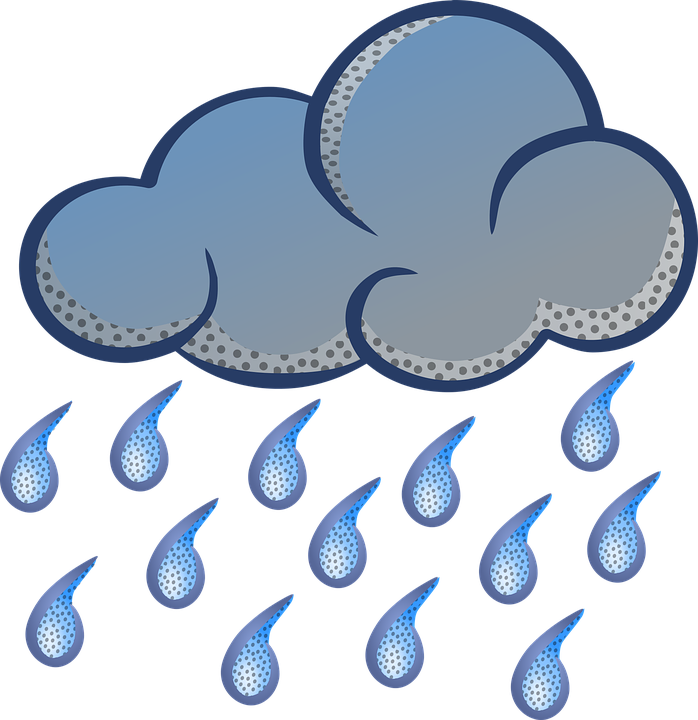 Free vector graphic: Rain, Clouds, Weather, Rainy, Sky.