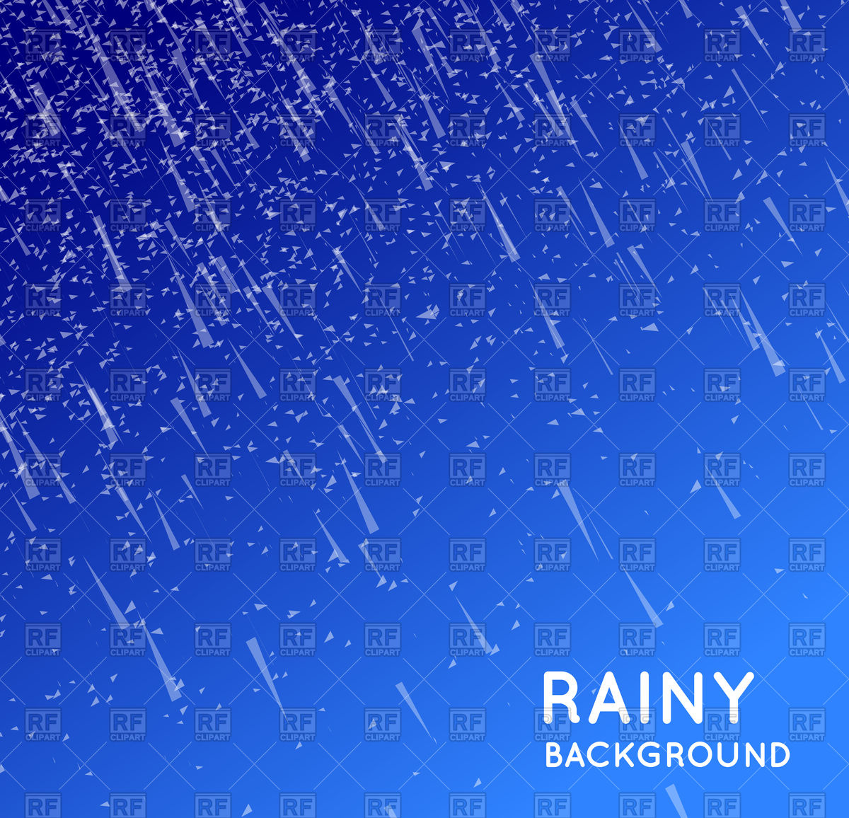 Rainy sky background Vector Image #107065.