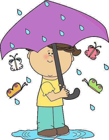 Summer Rain Clipart.