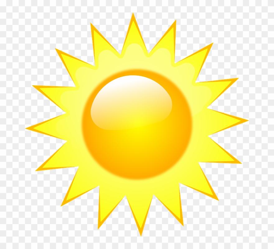 Free Vector Weather Symbols Clip Art.